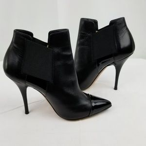 Casadei Stiletto Heels Ankle Boots size 36.5 M
